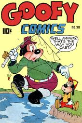 Goofy Comics, Number 20, Well Anyway, That's the Way You Cast