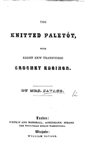 The Knitted Palet  t