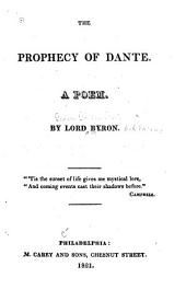 The Prophecy of Dante: A Poem