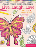 Color Your Own Stickers Live  Laugh  Love