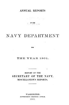 Report of the Secretary of the Navy PDF