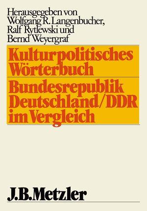 Kulturpolitisches W  rterbuch PDF