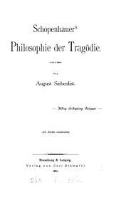 Schopenhauer's Philosophie der Tragödie