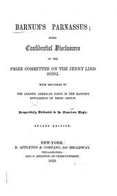Barnum's Parnassus: Being Confidential Disclosures of the Prize Committee on the Jenny Lind Song
