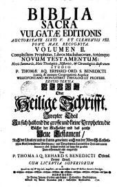 Biblia sacra vulgatae editionis ... studio Thomae. Ag. Erhard. Ed. tertia. Bibel oder heilige Schrift des alten und neuen Testaments (etc.)