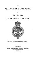 The Quarterly journal of science  literature and art PDF