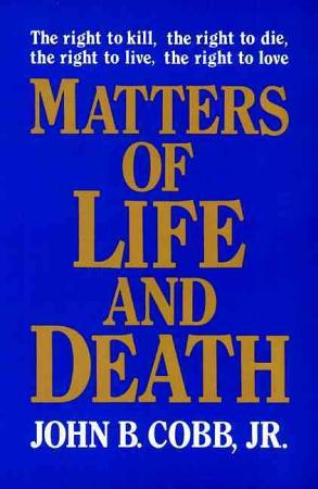 Matters of Life and Death PDF