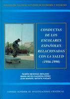 Conductas de los escolares espa  oles relacionadas con la salud  1986 1990 PDF