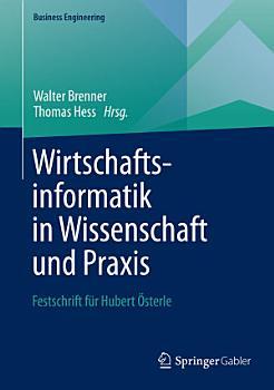Wirtschaftsinformatik in Wissenschaft und Praxis PDF