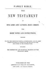 The Family Bible  The New Testament PDF