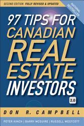 97 Tips For Canadian Real Estate Investors 2 0 Book PDF