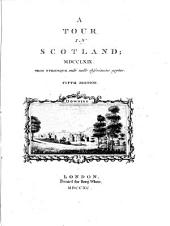 A tour in Scotland, MDCCLXIX [by T. Pennant. With] Suppl. [Another]