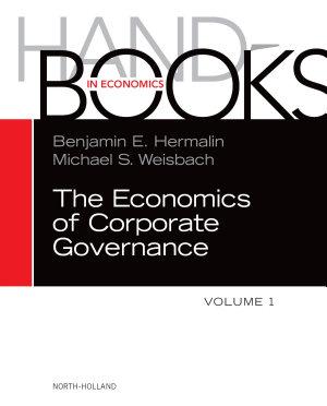 The Handbook of the Economics of Corporate Governance