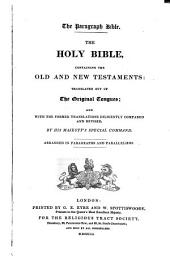 The Holy Bible: Containing the Old and New Testaments