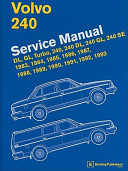 Volvo 240 Service Manual PDF