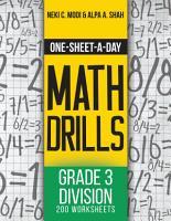One Sheet A Day Math Drills PDF
