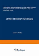 Advances in Electronic Circuit Packaging
