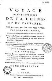 Voyage dans l'intérieur de la Chine et en Tartarie fait dans les années 1792, 1793 et 1794