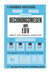 Rechnungswesen und EDV: Einsatz von Personalcomputern