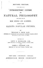 Introductory Course of Natural Philosophy for the Use of High Schools and Academies