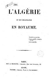 L'Algérie et son organisation en royaume par Gustave Bardy