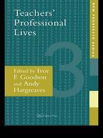Teachers  Professional Lives PDF