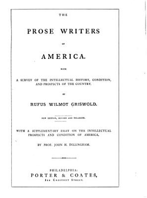 The Prose Writers of America PDF