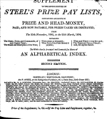 Steel s Prize Pay Lists  New Series     Corrected to the First of April  1805 PDF