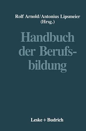 Handbuch der Berufsbildung PDF