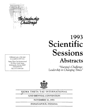 1993 Scientific Sessions   Abstracts    PDF