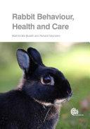 Rabbit Behaviour, Health and Care