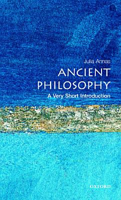 Ancient Philosophy  A Very Short Introduction PDF