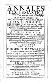 Annales ecclesiastici: continuatio 1198 - 1567, Volume 17