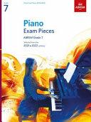 Piano Exam Pieces 2021 & 2022, ABRSM Grade 7