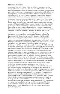 Religion and American Culture PDF