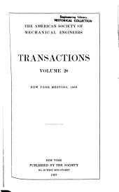 ASME Transactions: Volume 28