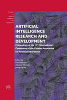 Artificial Intelligence Research and Development PDF