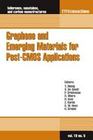 Graphene and Emerging Materials for Post CMOS Applications PDF