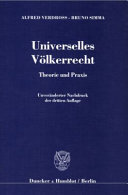 Universelles V  lkerrecht PDF