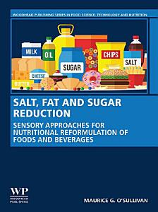 Salt  Fat and Sugar Reduction Book