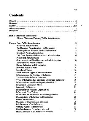 Public administration in Nigeria PDF