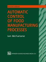 Automatic Control of Food Manufacturing Processes PDF