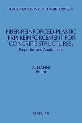 Fiber-Reinforced-Plastic (FRP) Reinforcement for Concrete Structures