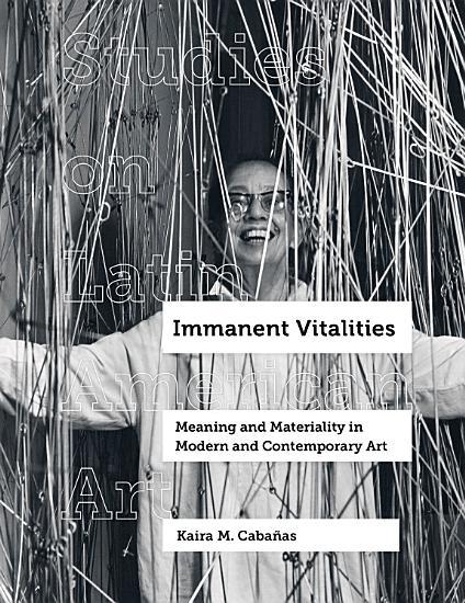 Immanent Vitalities PDF
