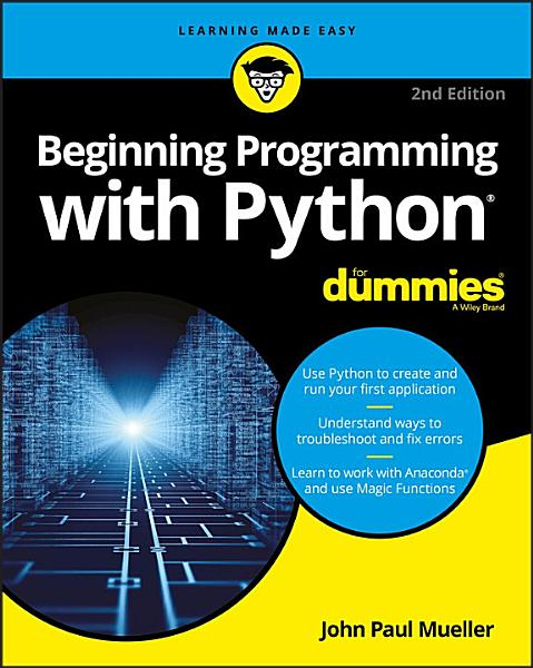 Download Beginning Programming with Python For Dummies Book