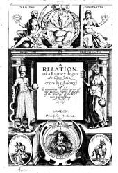 A Relation of a Journey Begun An. Dom. 1610: Foure Bookes Containing a Description of the Turkish Empire, of Aegypt, of the Holy Land, of the Remote Parts of Italy and Islands Adioyning