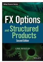 FX Options and Structured Products PDF