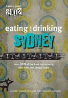 Eating and Drinking Guide to Sydney 2012 PDF