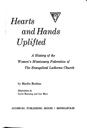 Hearts and Hands Uplifted PDF
