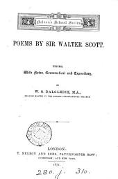 Poems. Ed., with notes, by W.S. Dalgleish